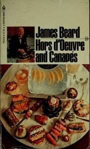 Hors d'oeuvre and canapés : Beard, James, 1903-1985 : Free Download & Streaming : Internet Archive