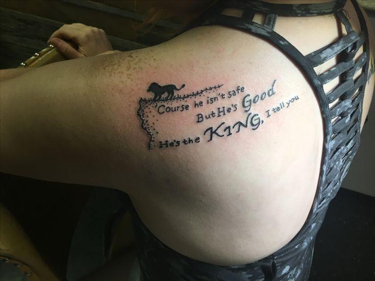 narnia aslan tattoo | tattoos | Tattoos, New tattoo ...