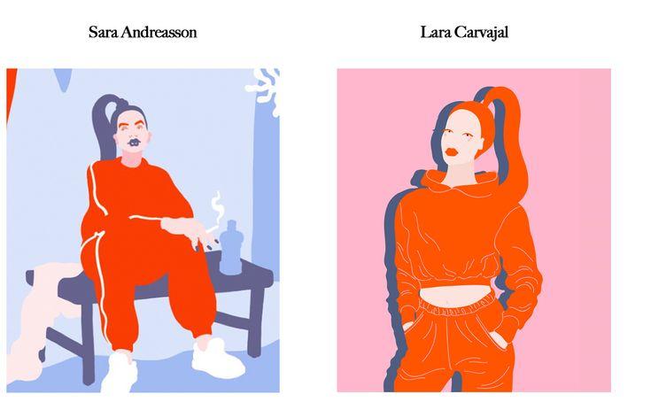Feels Familiar? Sara Andreasson VS Lara Carvajal