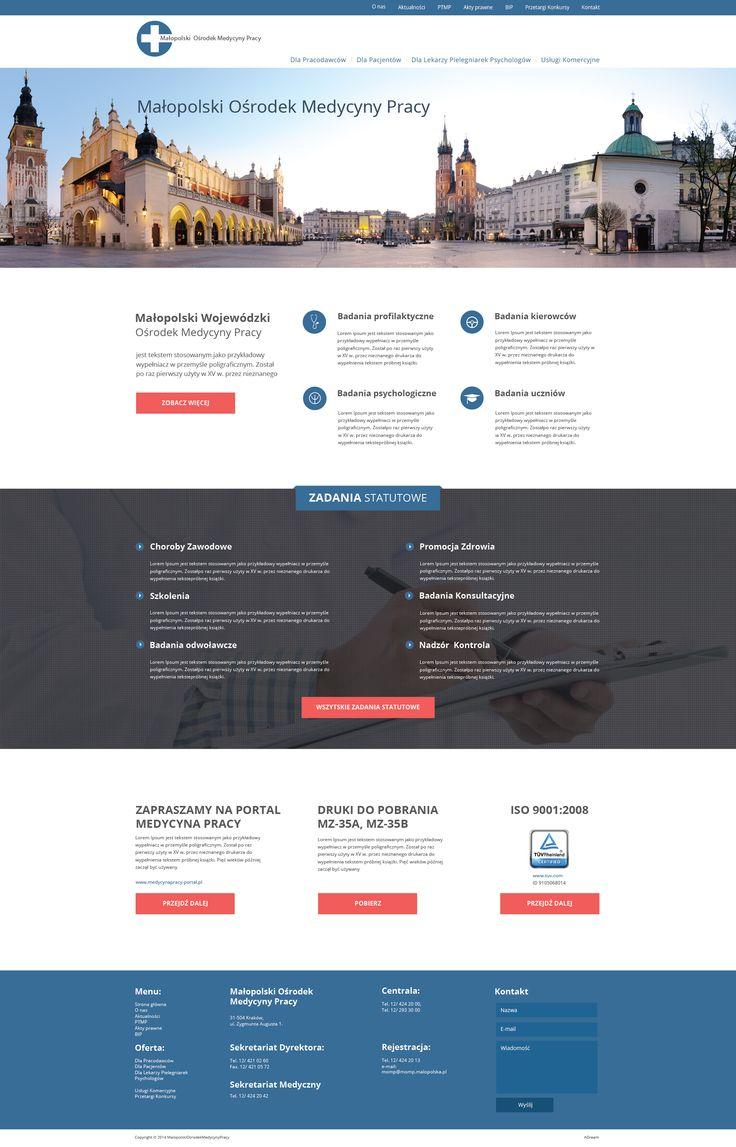 Nowa strona dla Małopolskiego Ośrodka Medycyny Pracy