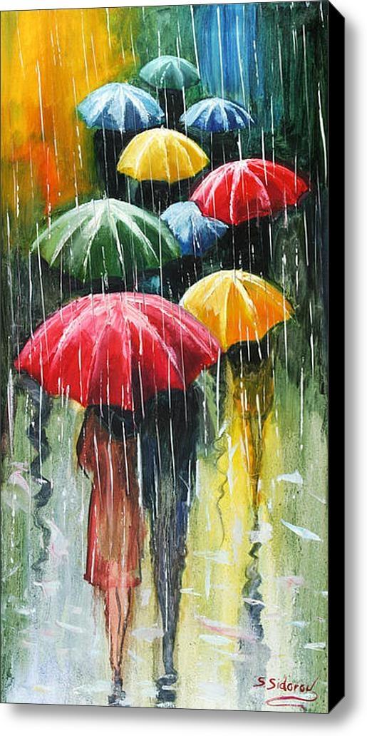 Stanislav Sidorov - Romantic Umbrellas 2