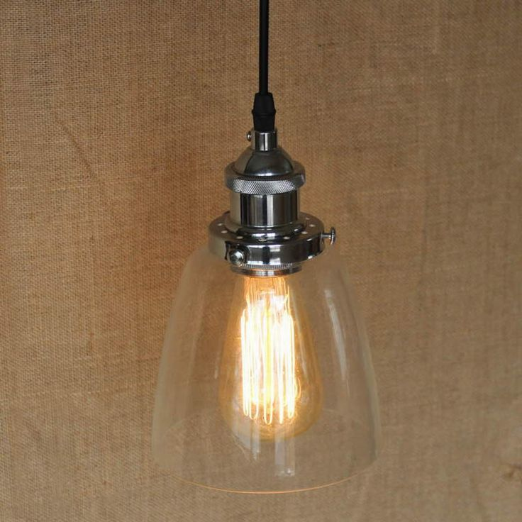 Find More Pendant Lights Information about LOFT Industrial clear glass shade Pendant Lamp with Edison Light bulb for coffee shop bar dining room,High Quality lamp commander,China lamp top Suppliers, Cheap lamp shade stores from Newatmosphere Lighting Co., Ltd. on Aliexpress.com