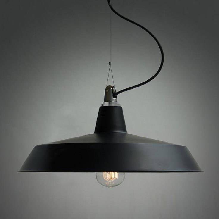 Pulley Industrial Pendant Light - DINING TABLE