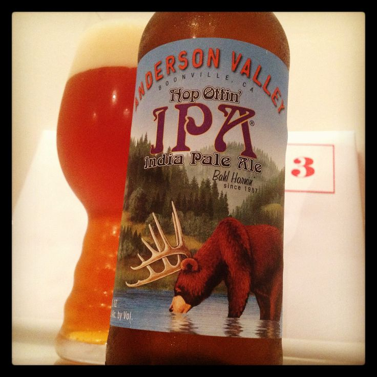 Day three of #giantbeeradventcalendar Anderson Valley Hop Ottin' IPA