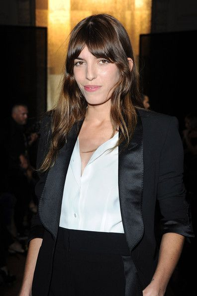 Lou Doillon - Yves Saint Laurent: Front Row - Paris Fashion Week Spring / Summer 2012