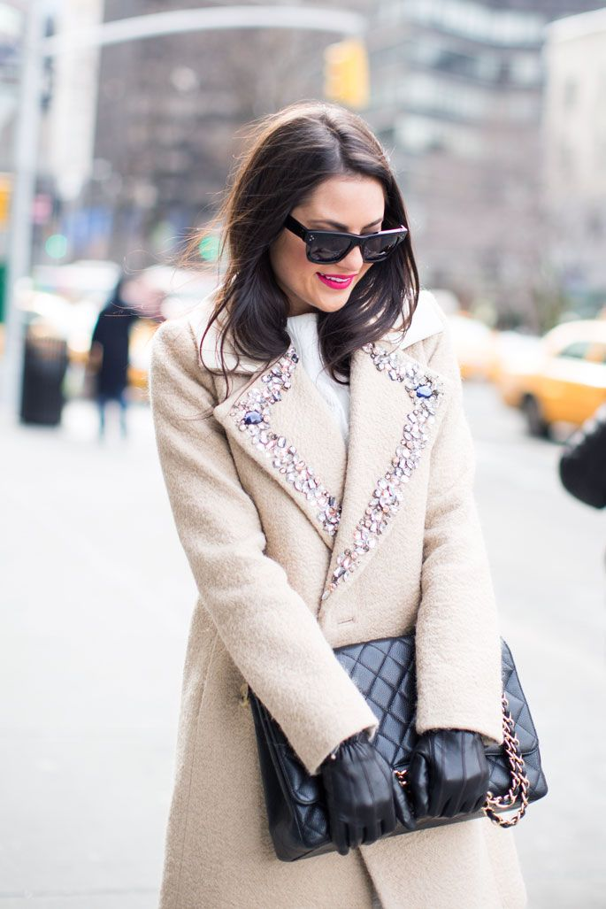 J.Crew Collection- Embellished Coat - Pink Peonies http://pinkpeonies.com/waiting-game/