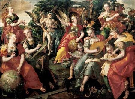 1590 Marten_de_Vos_Las siete artes liberales