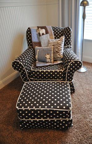 25 Best Polka Dot Chair Ideas On Pinterest Home Office