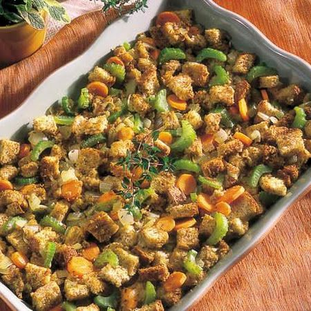 Traditional Herb Stuffing | Recipe | Stuffing, Herbs and Traditional