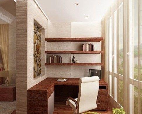 Как сделать маленький кабинет просторным и женственным / Интерьер / Архимир