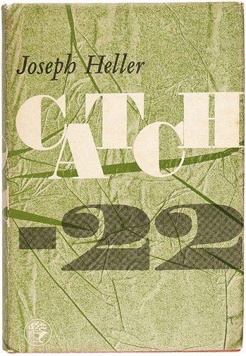 HELLER, Joseph. Catch 22.  Jonathan Cape. 1962. #classic #comedy #drama #war