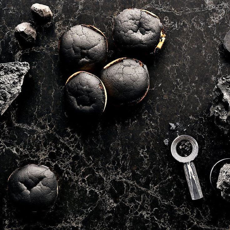 Fire  Torteau Fromager    #materialmenu #clickthelinkinbio Discover 'A Material Menu: Designs for the Culinary Aesthetic' by @arabeschi for #caesarstone  An inspirational recipe book containing a series of eight recipes for you to try at home  #clickthelinkinbio #discovermore | Caesarstone Vanilla Noir 5100