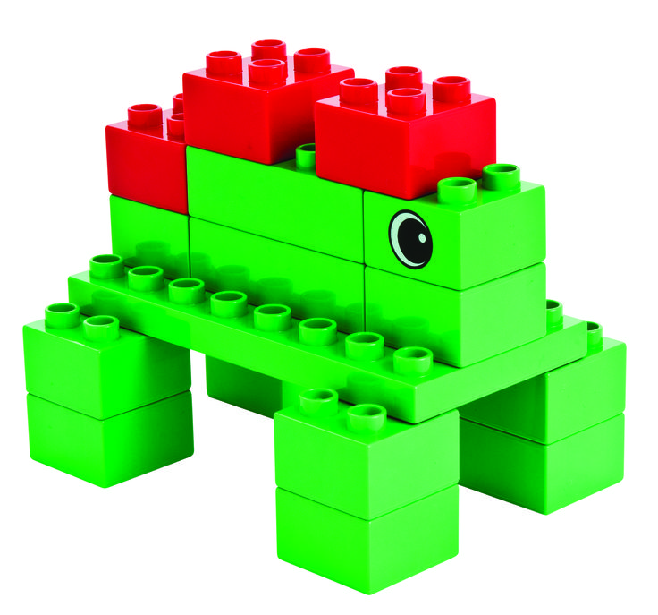 What kind of dinosaur can you build with LEGO Duplo?