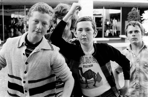 The Lads, Melbourne 1974. Photo by Rennie Ellis.