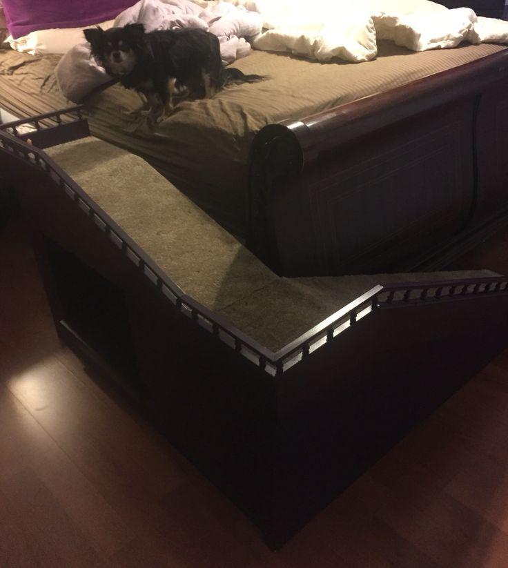 Mejores 14 im genes de rampa perro en pinterest camas - Escaleras para perros ...