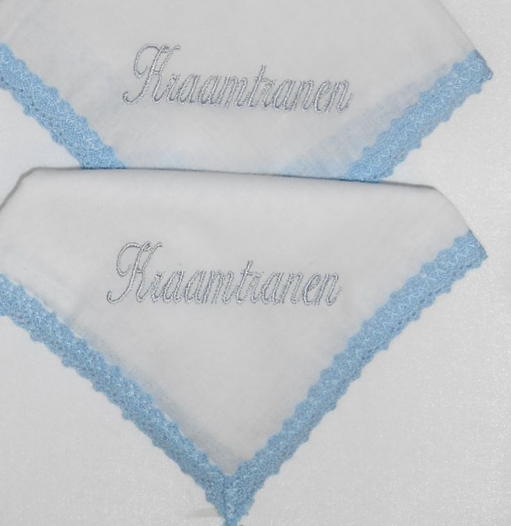 kraamtranen zakdoeken