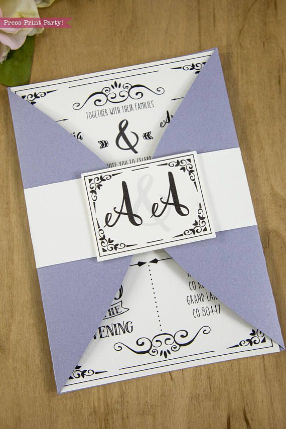 The 25 best DIY wedding envelope template ideas on Pinterest