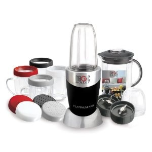 Magic Bullet Food Chopper - makes an easy smoothie for breakfast or afterschool snacks!