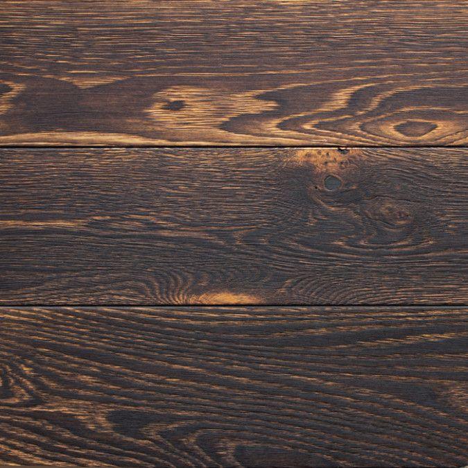 SHOGUN shou sugi ban charred flooring