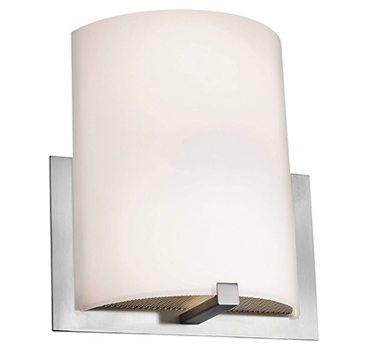 This Access Lighting Cobalt wall sconce brings you slender style that is ADA compliant, making it great for use in smaller or tighter spaces.