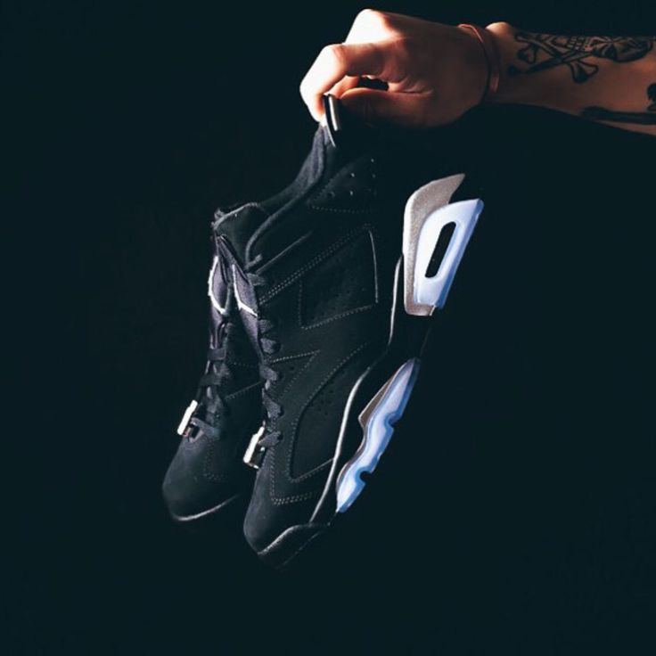 PreOrder Nike Air Jordan 6 Retro Low - Black Metallic Silver 304401-003 USD  200.00