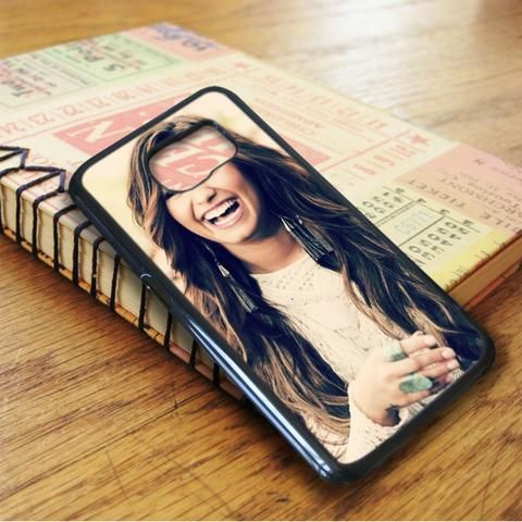 Demi Lovato Beautiful Laugh Samsung Galaxy S6 Case