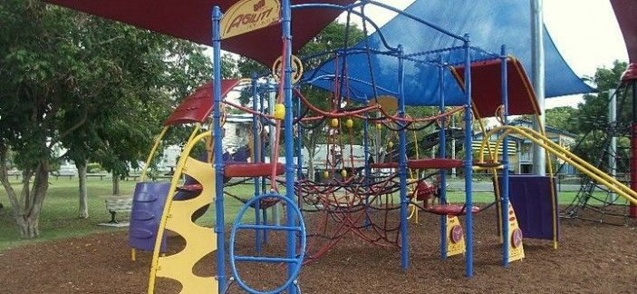 The Grange Library Park Play Structure