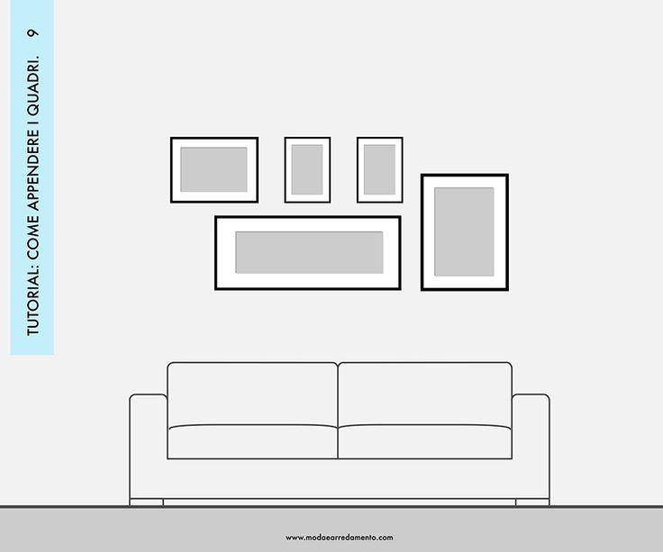 Oltre 25 fantastiche idee su Quadri soggiorno su Pinterest  Soggiorno arte, Appendere quadri e ...
