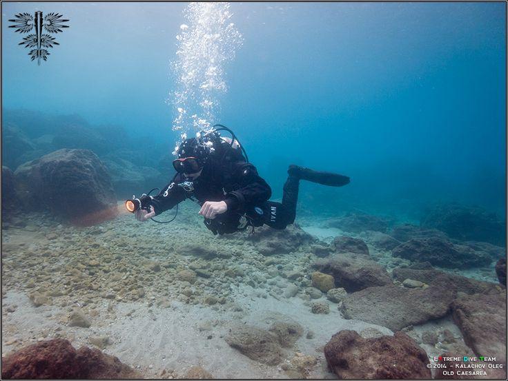Дайвинг в Израиле — Средиземное море — Древняя Кейсария | 10.01.2014 | Diving in Israel (15)