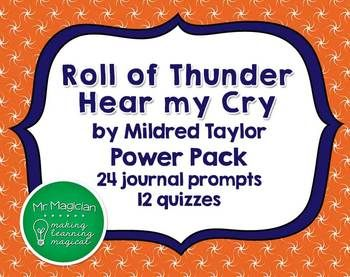 Roll of thunder hear my cry essay questions