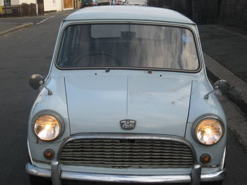 1963 Mini 998cc 4cyl