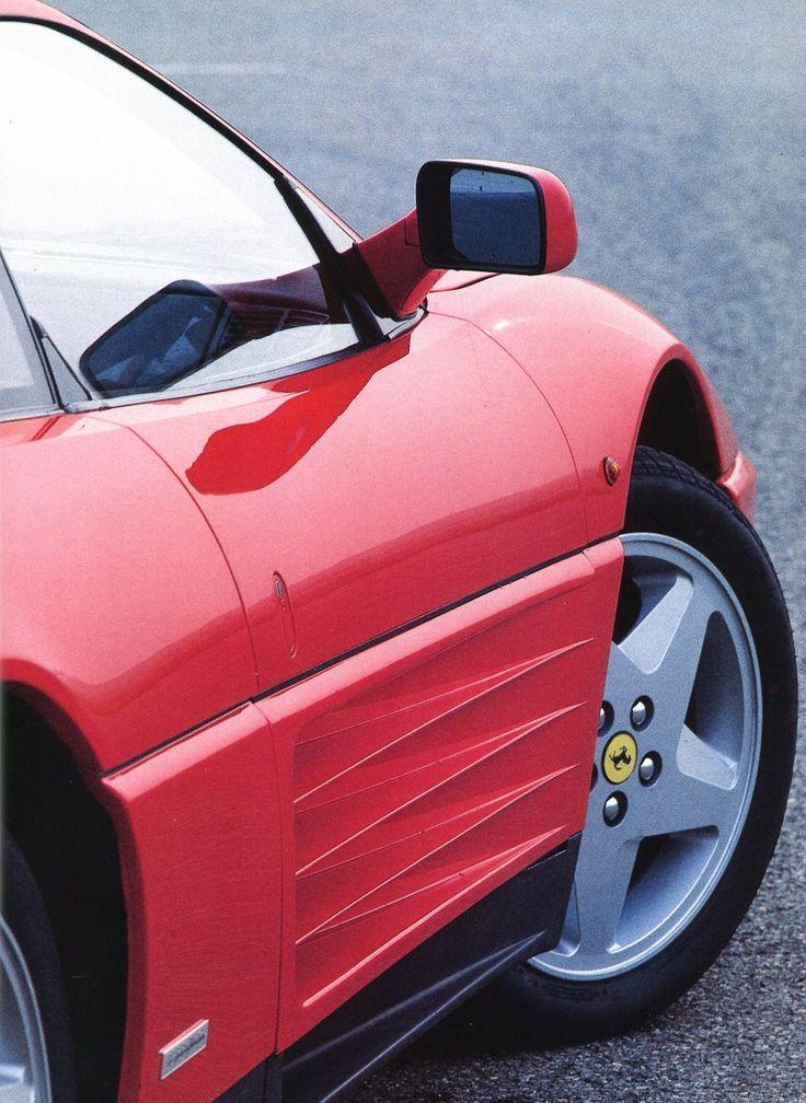 Ferrari 348 tb - Pininfarina - 1989 - Automobiles Classiques décembre 1989 / Janvier 1990