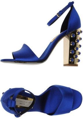 Blue Shoes Fashion