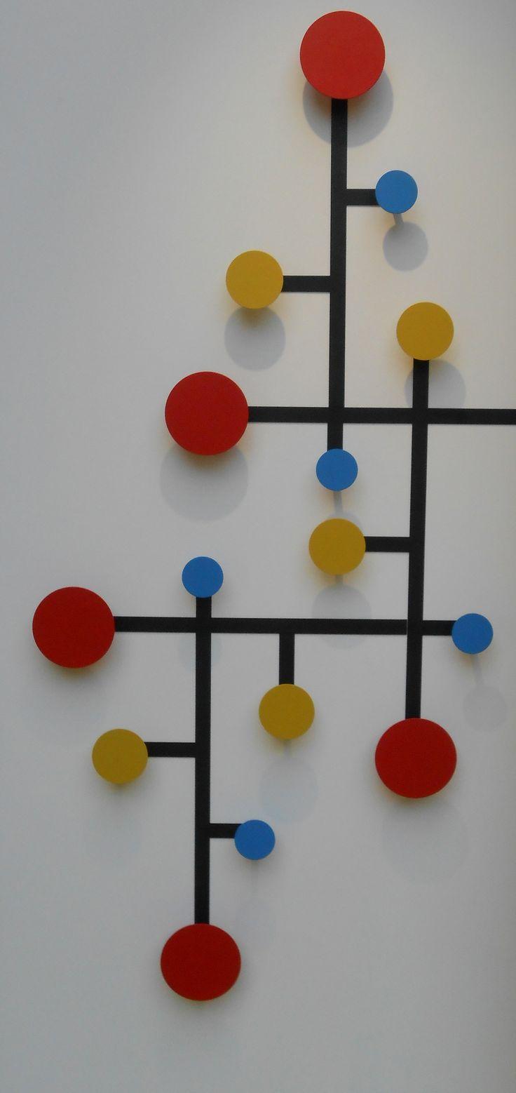 2013 Patère à la Mondrianby Presse Citron