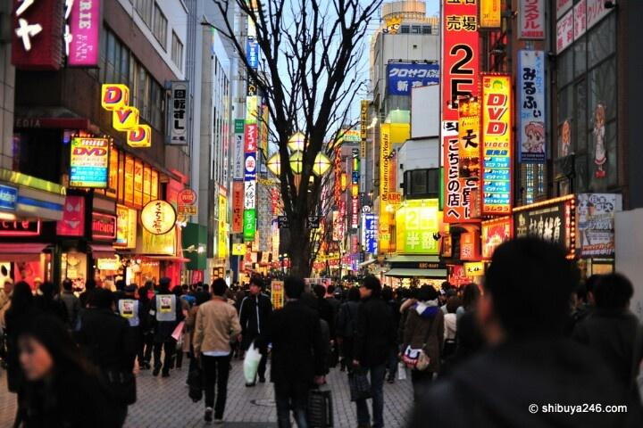Kabukicho, Japan Redlight district