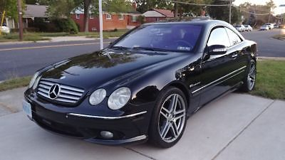 2003 Mercedes-Benz CL-Class CL55 KOMPRESSOR Great shape CL55 AMG Kompressor Loaded. Supercharged very powerful