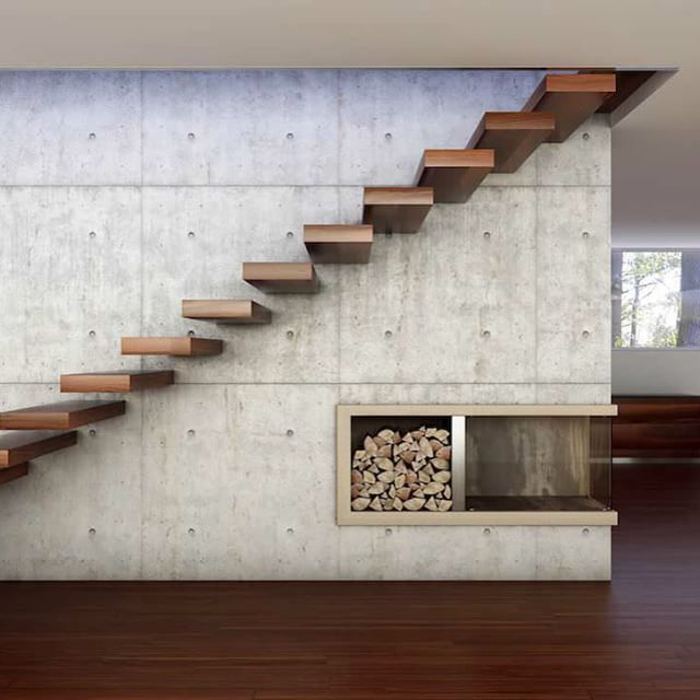 Comcrete  Wood #Staircase ///  Concreto  Madera #Escaleras  Tag a Friend! #d_signers by d.signers