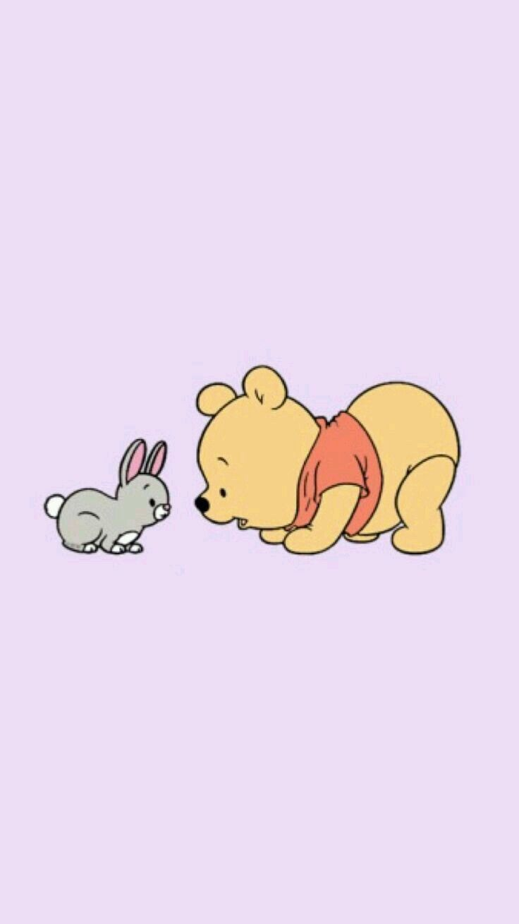 Winnie The Pooh In 2020 Baby Disney Characters Wallpaper Iphone Disney Character Wallpaper