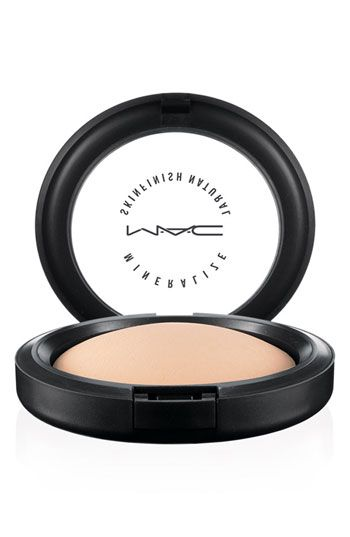 This is a staple to have in my makeup bag - forever! MAC Mineralize Skinfish Natural in Medium. You can touch up 100x, and it never gets cakey!