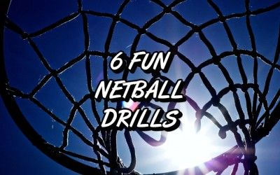 6 Ridiculously Fun Netball Drills
