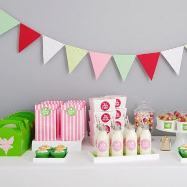 Party packs just got chic! £32, www.oatesandco.com