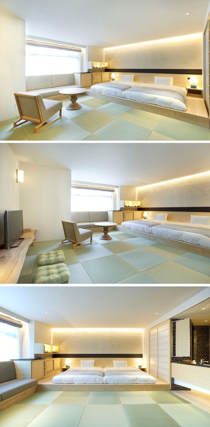 6 Japanese Bedroom Furniture and Decoration Ideas
