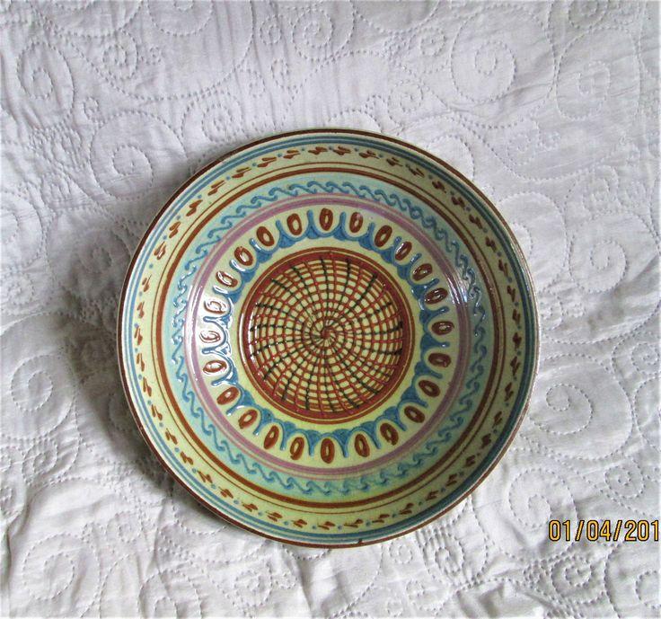 Vintage Swedish Bowl, scandinavian decor, swedish ceramics, colorful bowls, fruit bowls, decorative bowls, by BoutiqueBouBou on Etsy