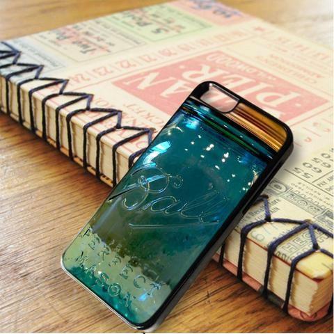 Blue Ball Glass Mason Jar iPhone 6|iPhone 6S Case