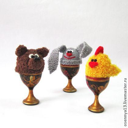 """Обучающие материалы ручной работы. Ярмарка Мастеров - ручная работа Мастер-класс """"Грелки для яиц"""". Handmade."""