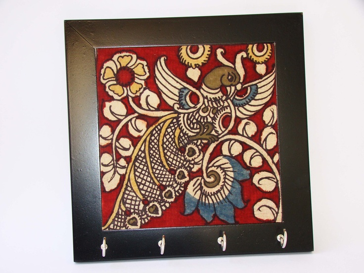 http://www.afday.com/collections/home-decor/products/kalamkari-wall-hook-1 Rs 400