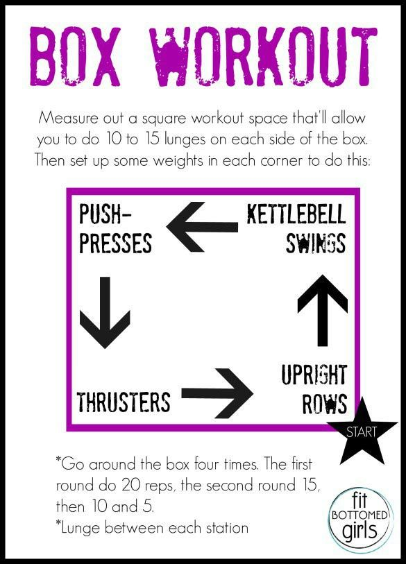 This full-body box workout will burn your biscuits! | Fit Bottomed Girls