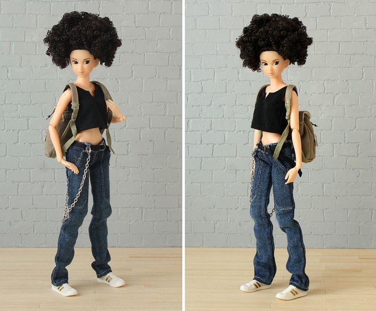 Minimagine: NADIA        Momoko 'Everyday B-Girl' #momokodoll #dollcollector #dollcollection #dollportrait