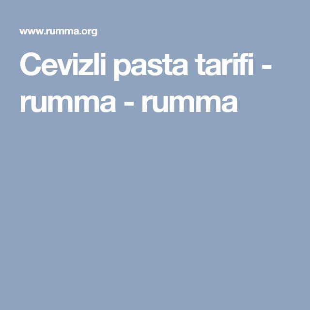 Cevizli pasta tarifi - rumma - rumma