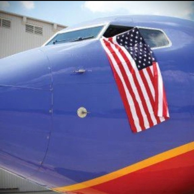 Celebrating Flag Day @Southwest Airlines
